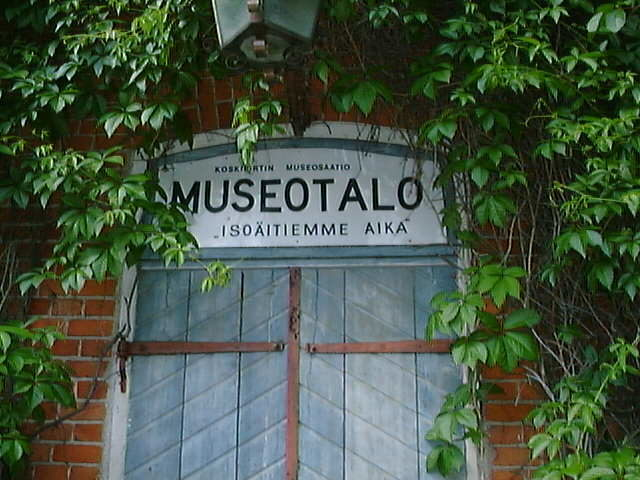Koskipirtti och Museotalo