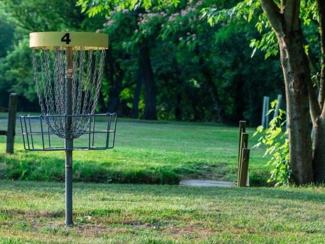 Aura's Frisbeegolf Course