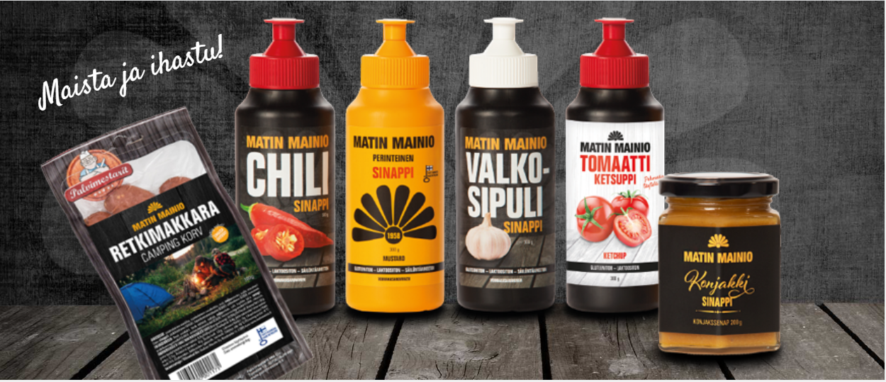 Matin Mainio - Taste for flavouring, since 1958