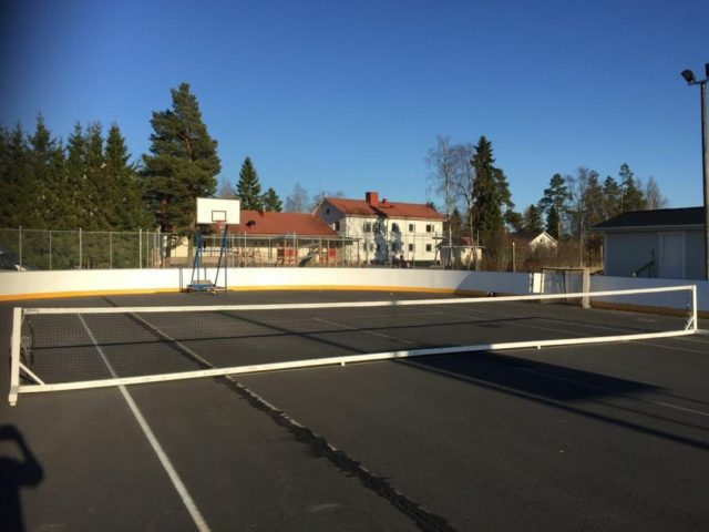 Auvainen: village, rest area and a place for exercising